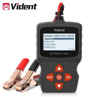 (US Ship No Tax) Vident iBT100 12V Battery Analyzer for Flooded, AGM,GEL 100-1100CCA Automotive Tester Diagnostic Tool