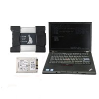 V2021.01 BMW ICOM Next A+B+C Diagnosis with Second Hand Lenovo T410 Laptop I5 CPU 4GB No Needs Activation