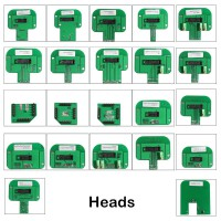 New 22pcs BDM Adapters KTAG KESS KTM Dimsport BDM Probe Adapters LED BDM Frame Full Set