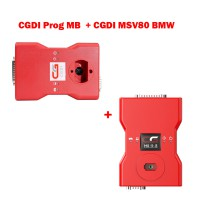 (US Ship No Tax) V3.0.4.0 CGDI Prog MB Key Programmer and V3.2.0 CGDI BMW Car Key Programmer Full Version