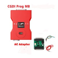 (UK,US Ship No Tax) CGDI Prog MB Benz Car Key Programmer plus AC Adapter for Quick Data Acquisition