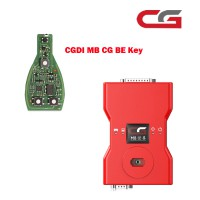 (US Ship No Tax) CGDI Prog MB Benz Car Key Programmer CGMB Prog Monster plus CGDI MB CG BE Key for All Benz FBS3 Immo