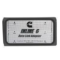 INLINE 6 Data Link Adapter Insite 8.2.0.184 for Cummins Multi-language Truck Diagnostic Tool