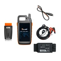 Xhorse VVDI Key Tool Max with MINI OBD Tool Key Programmer plus Toyota 8A All Keys Lost Adapter with Free Renew Soldering Cable