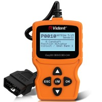 (UK,US Ship No Tax) VIDENT iEasy200 OBDII,EOBD,CAN Code Reader Free Shipping