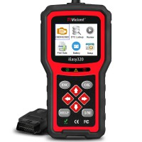 (US, UK Ship No Tax) Vident iEasy320 Enhanced OBDII,EOBD,CAN Code Reader Multi-Language