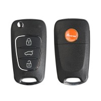 Xhorse XKHY02EN Wire Remote Key Hyundai Flip 3 Buttons English 1pc