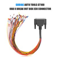 GODIAG DB25 Colorful Jumper Cable for All ECU Connection Free Shipping