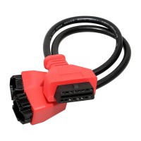 Autel Chrysler Dodge Jeep Fiat Alfa 12+8 OBDII Cable Adapter for MaxiSys Elite MS908 MS908P MS908S Pro
