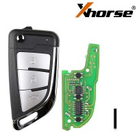 XHORSE XKKF21EN VVDI KNIFE 2 Style(Flip-3BTN)  Wired Remote 5pcs/lot Free Shipping