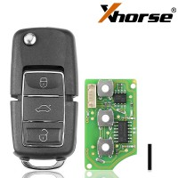 Xhorse XKB506EN Wire Remote Key 3 Buttons for VVDI VVDI2  Key Tool(English Version)