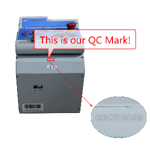 MIRACLE-A7 Key Cutting Machine  QC MARK