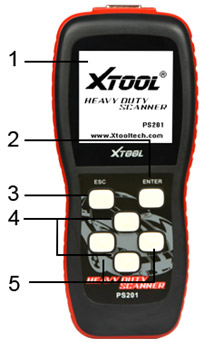 XTOOL PS201 OBD2 CODE READER