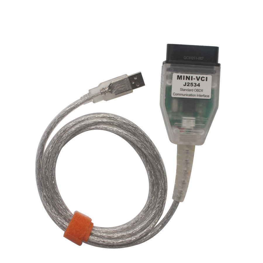 OEM MINI VCI for TOYOTA Single Cable Supports Toyota TIS Techstream  V14 10 028 Diagnostic Software Ship from UK