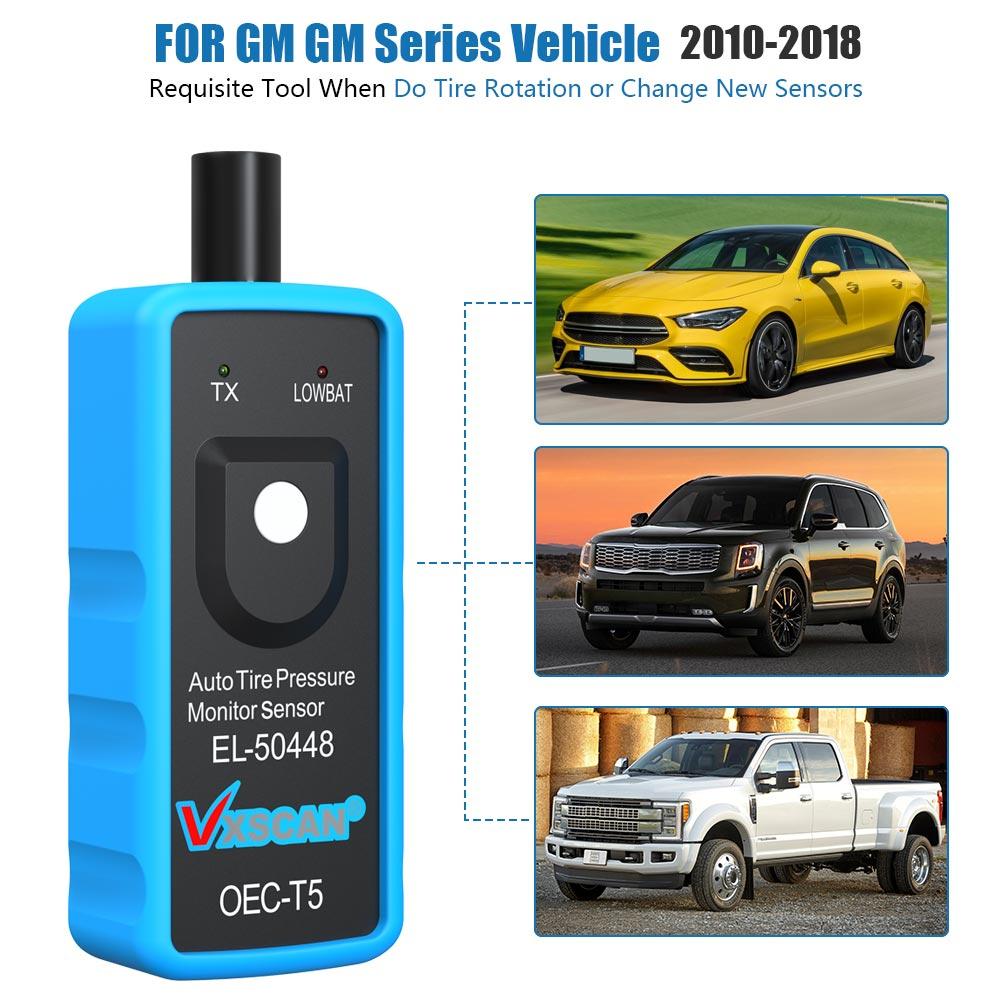 EL50448 TPMS Reset Auto Tire Pressure Sensor Activation Tool For GM Up to 2018