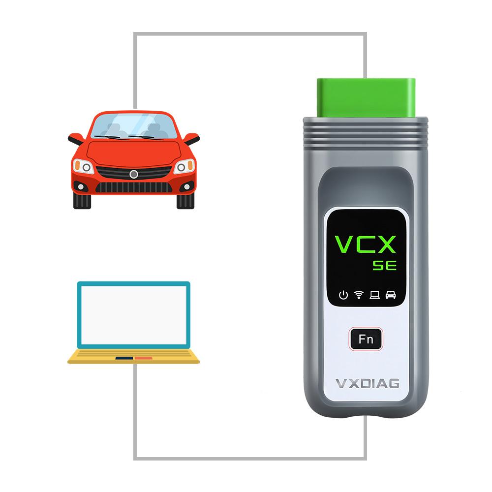 vxdiag VIDA 2014D connection