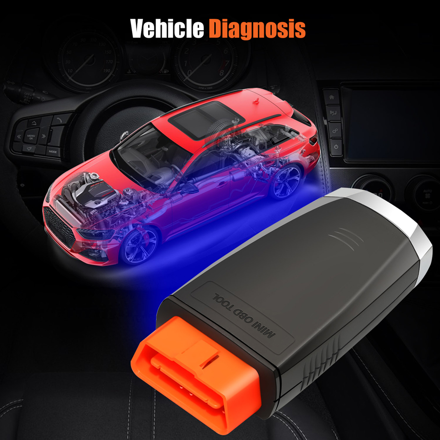 VVDI Mini OBD Toolsupports Diagnosis function
