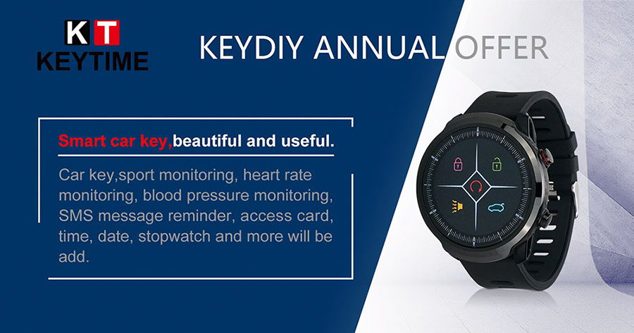 KEYDIY KD Smart Watch KD-SW01 Quartz