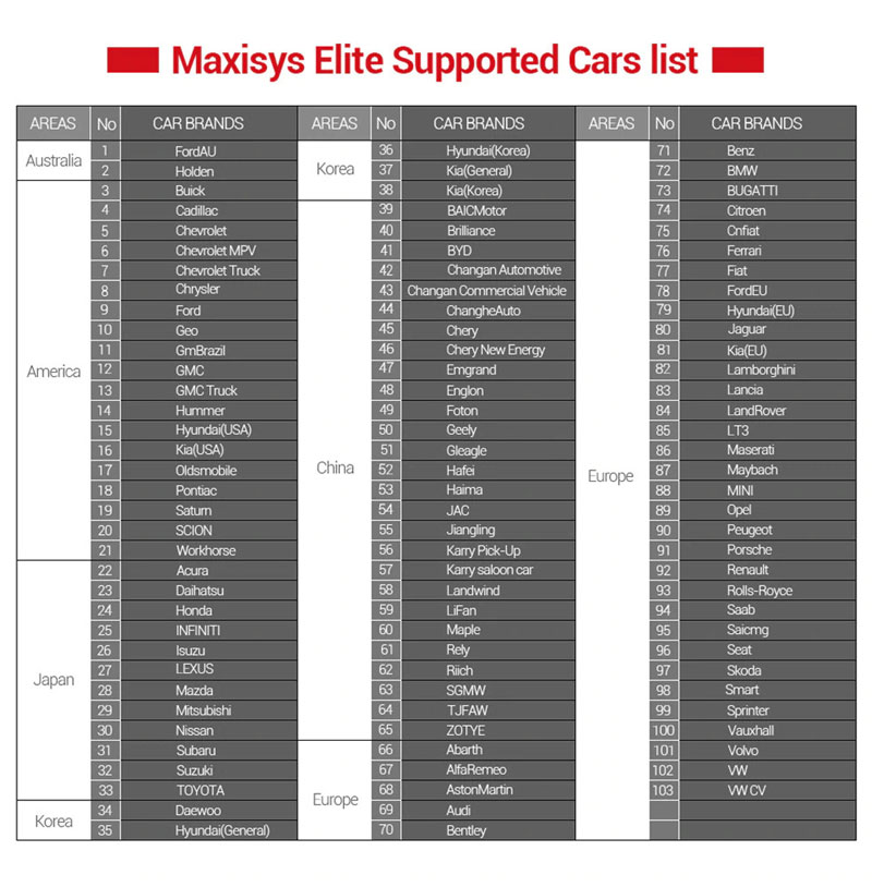 autel-maxisys-elite-car-list