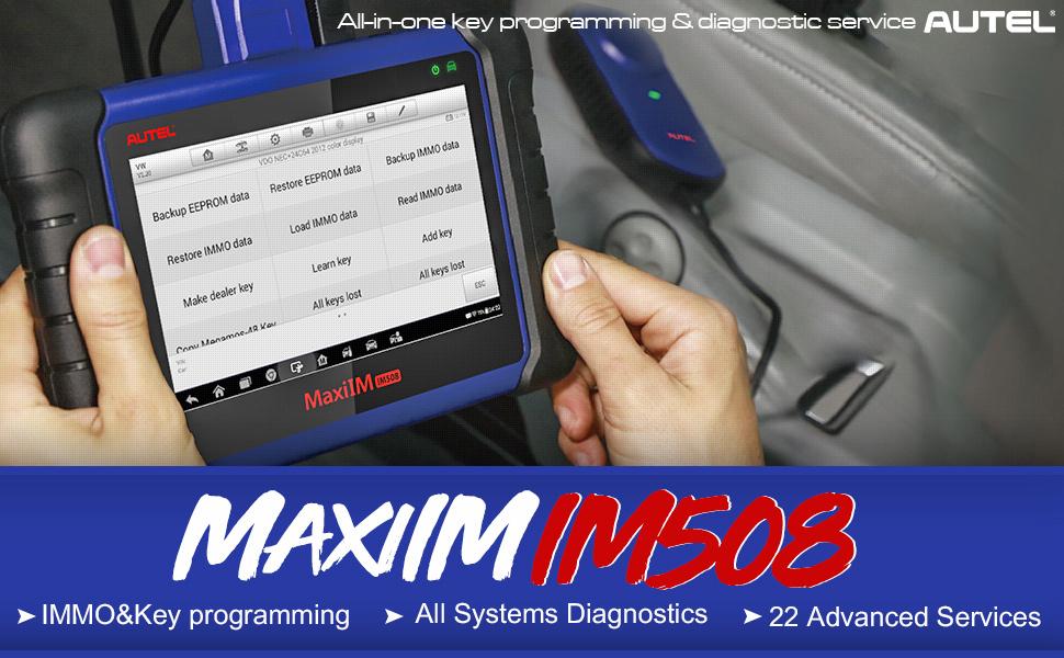 Autel XP400 Pro for IM508