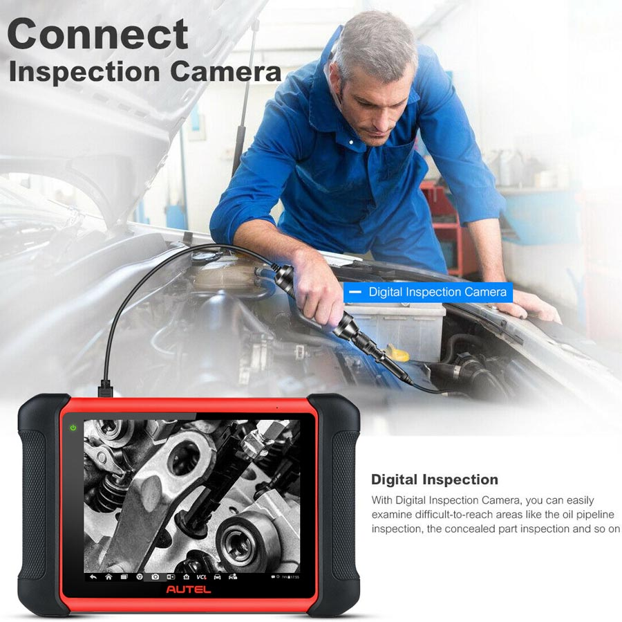 Autel MaxiCom MK906BT Full System Diagnostic Scanner Supports ECU Coding