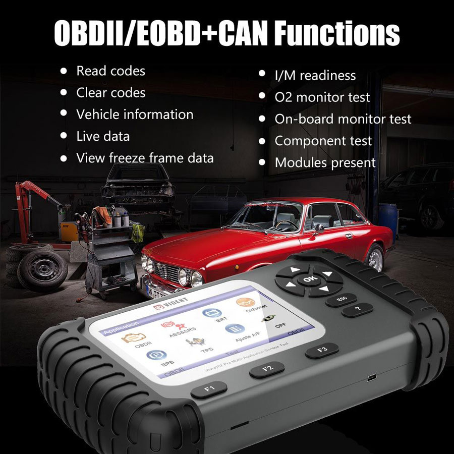 VIDENT iAuto 702 Pro Diagnosis Function