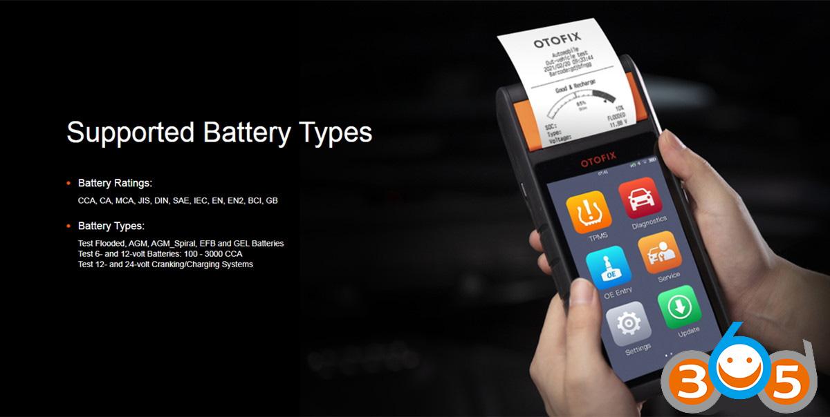 OTOFIX BT1 Professional Battery Tester
