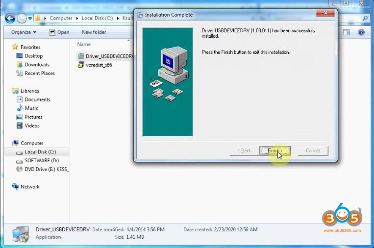 Install Kess V2 V253 Software 7